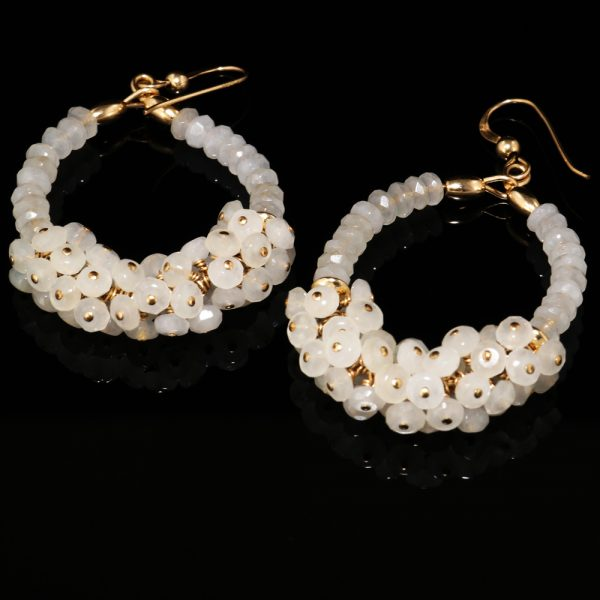 1025-white-chalcedony-gold-oval-hoop-cluster-earrings-land-and-sea-jewelry-2