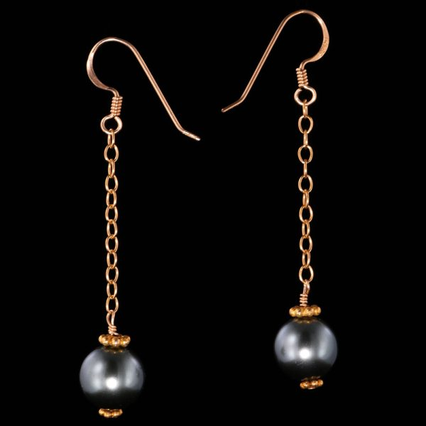 1204-Blue-pearl-gold-dangle-earring-land-and-sea-jewelry