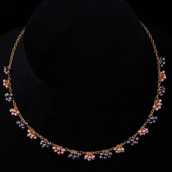 2101-Baby-blue-pink-champagne-pearl-gold-chain-necklace-land-and-sea-jewelry