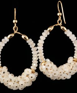 1025-white-chalcedony-gold-oval-hoop-cluster-earrings-land-and-sea-jewelry